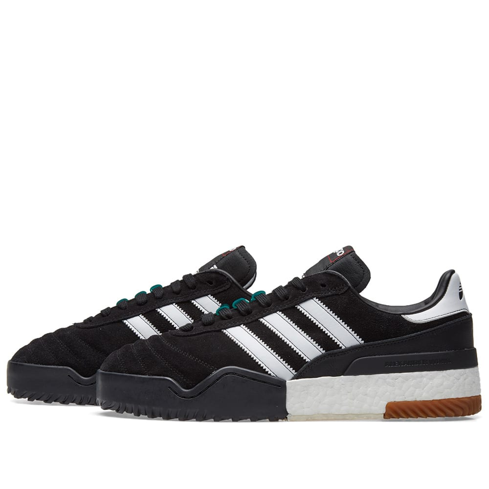 a6769e863dcdf Adidas Originals by Alexander Wang BBall Soccer Black   White