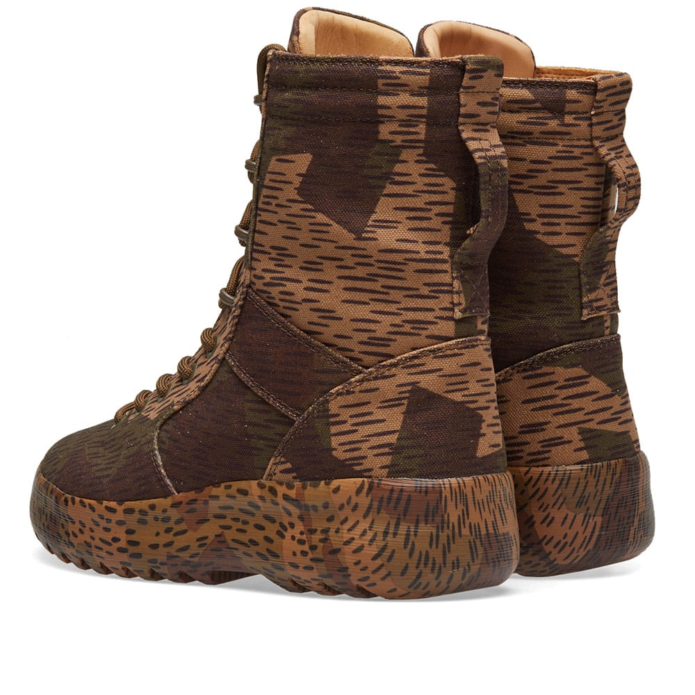 adf57d76d3157 Yeezy Season 6 Camo Military Boot Splinter Camo