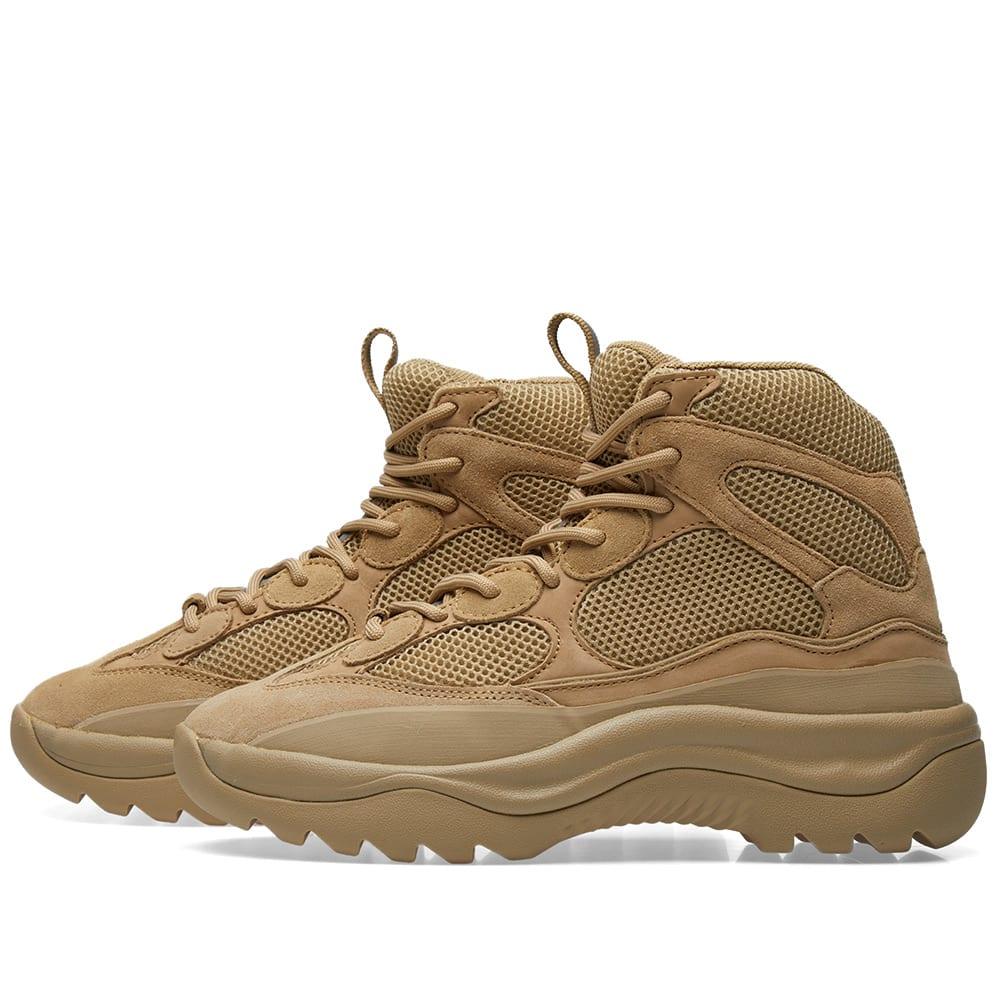 9e2a7c2057b Yeezy Season 6 Desert Rat Boot Taupe