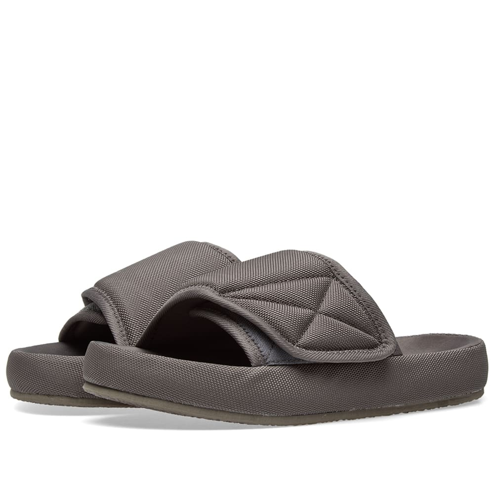 dfcf74985 Yeezy Season 6 Nylon Slide Graphite