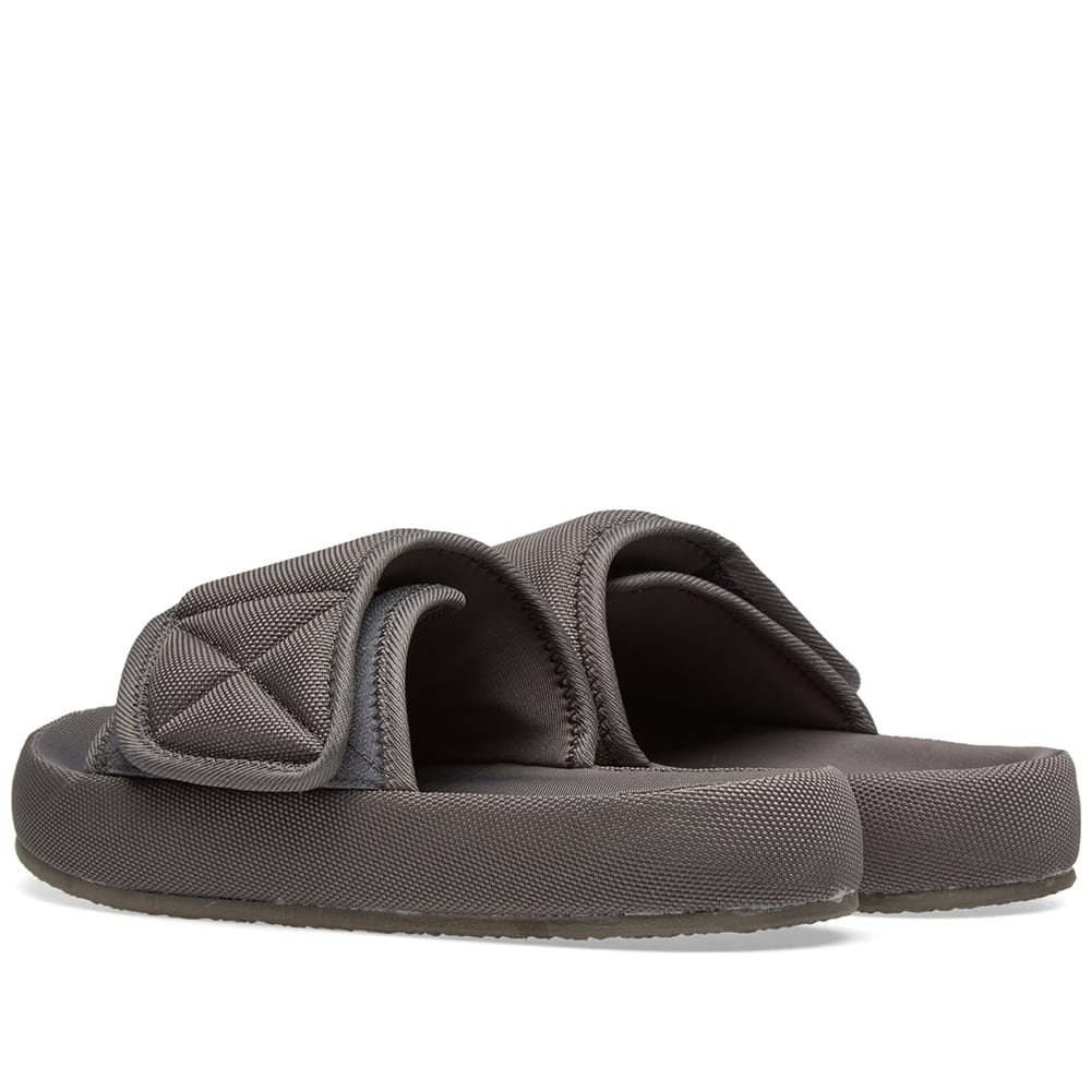 4de342483ff1d Yeezy Season 6 Nylon Slide Graphite