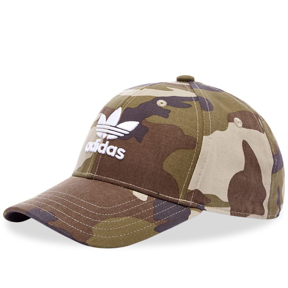 first rate how to buy new release Adidas Trefoil Camo Cap in Green