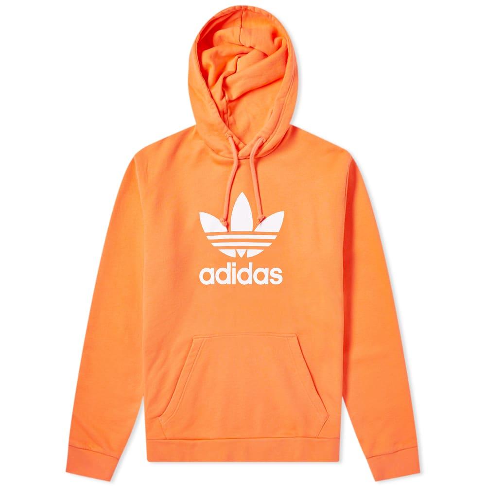 adidas Trefoil Hoodie Orange