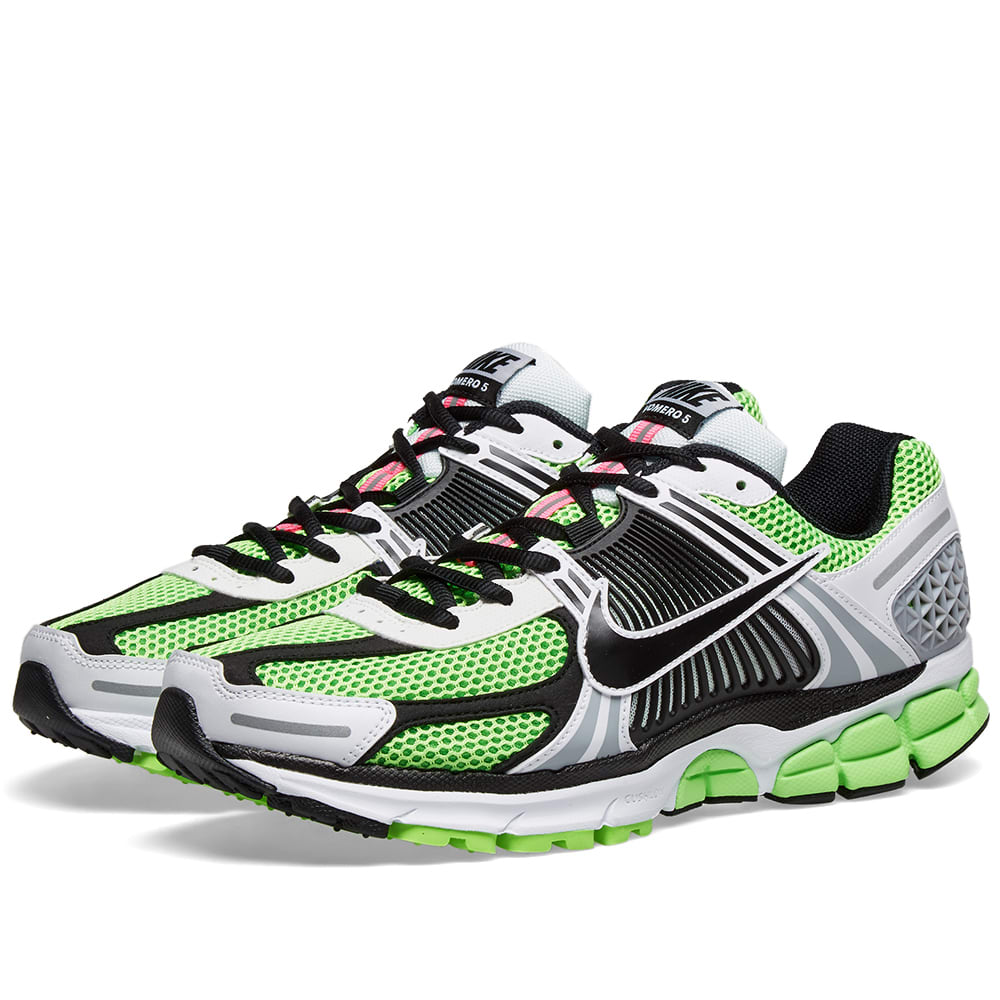 malattia metropolitana Tom Audreath  Nike Zoom Vomero 5 SE SP Electric Green, Black & Sail | END.