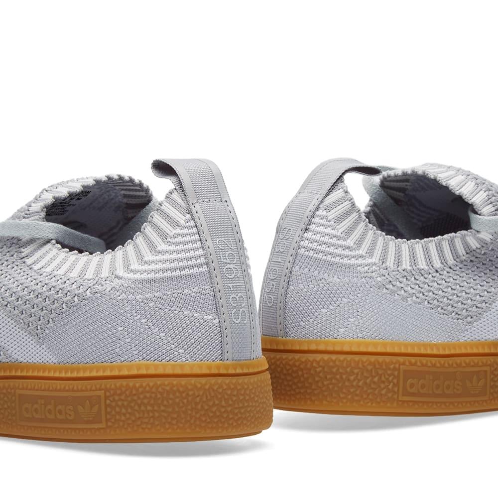 Nathaniel Ward Generacion jueves  Adidas Very Spezial Primeknit Clear Onix, Clear Grey & White | END.