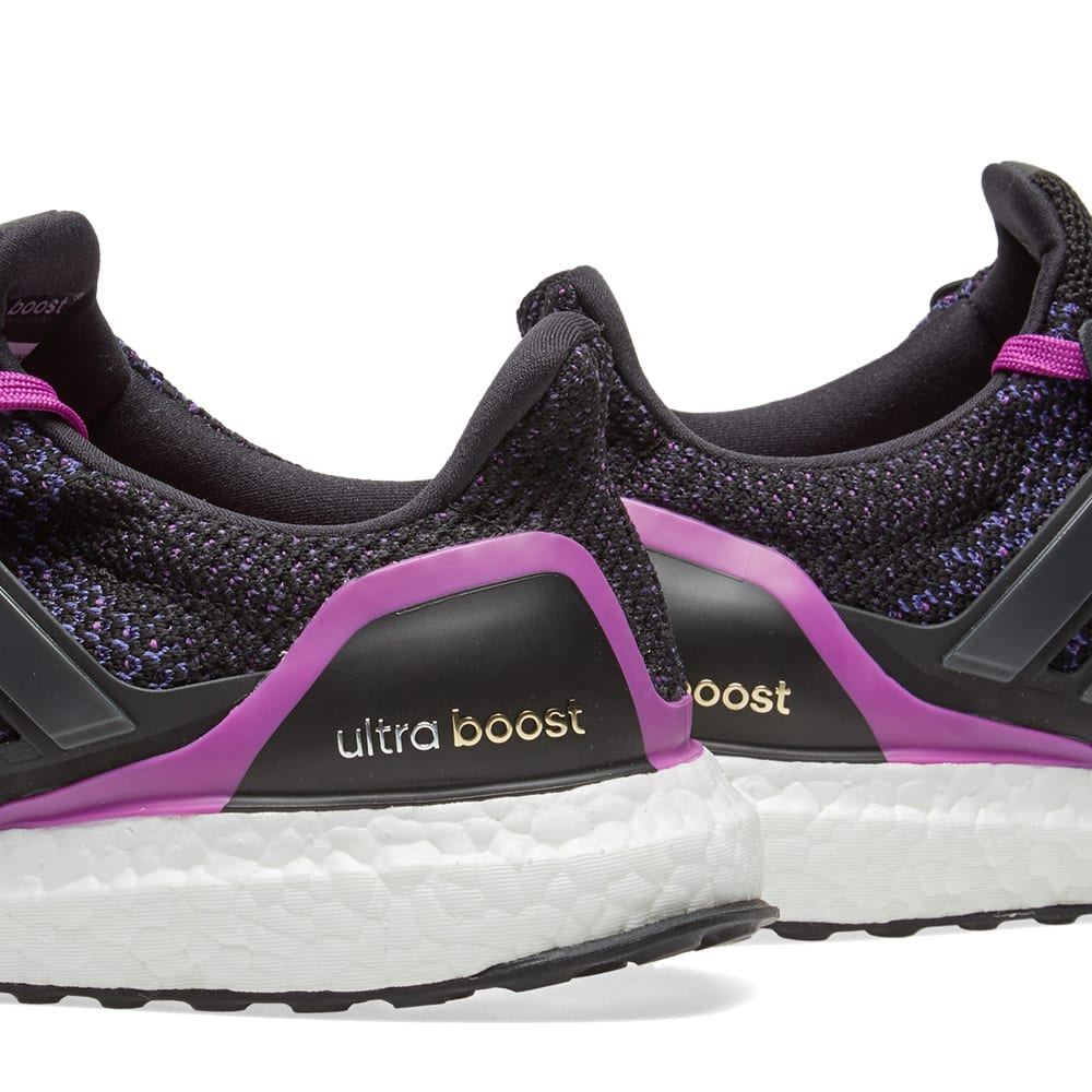 aa6bd3f2a36 Adidas Women s Ultra Boost W Core Black   Shock Purple