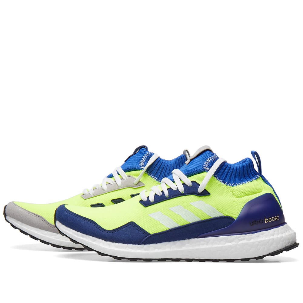 the latest 6ee3f 865f3 Adidas x Proto Ultra Boost Mid Yellow, Hi-Res Blue   White   END.