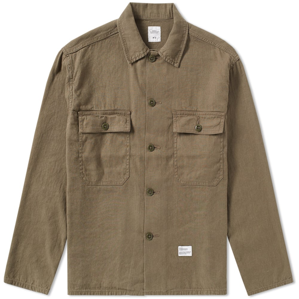 BEDWIN & THE HEARTBREAKERS CLIFF MILITARY OVERSHIRT
