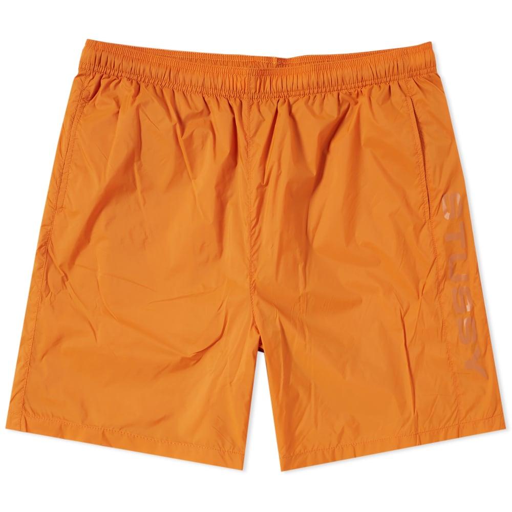 STUSSY Sport Nylon Short in Orange