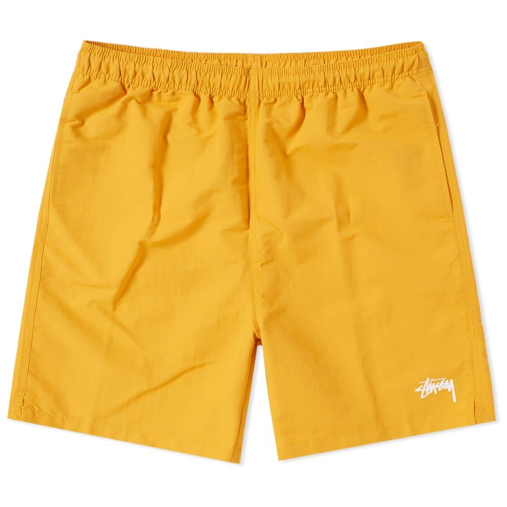 STUSSY Stock Water Shell Shorts in Orange