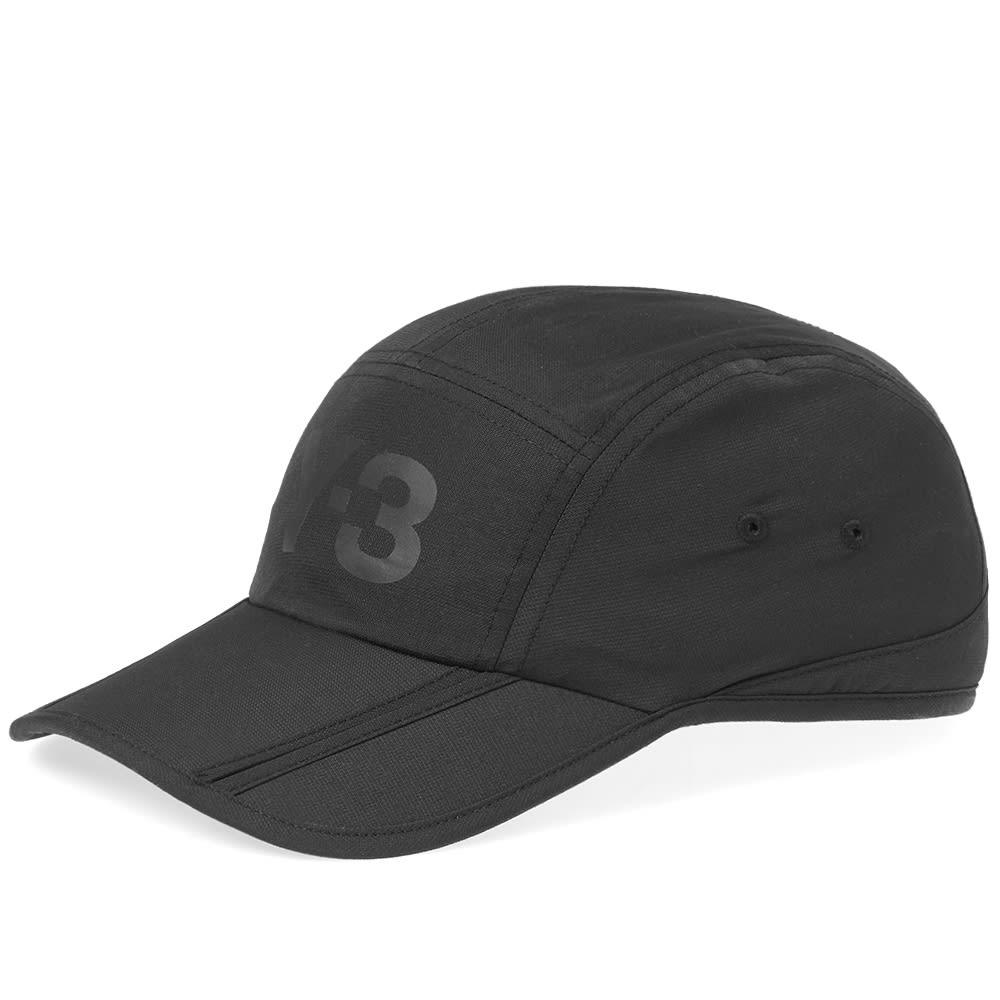 bdcf98403 Y-3 Foldable Logo Cap Black
