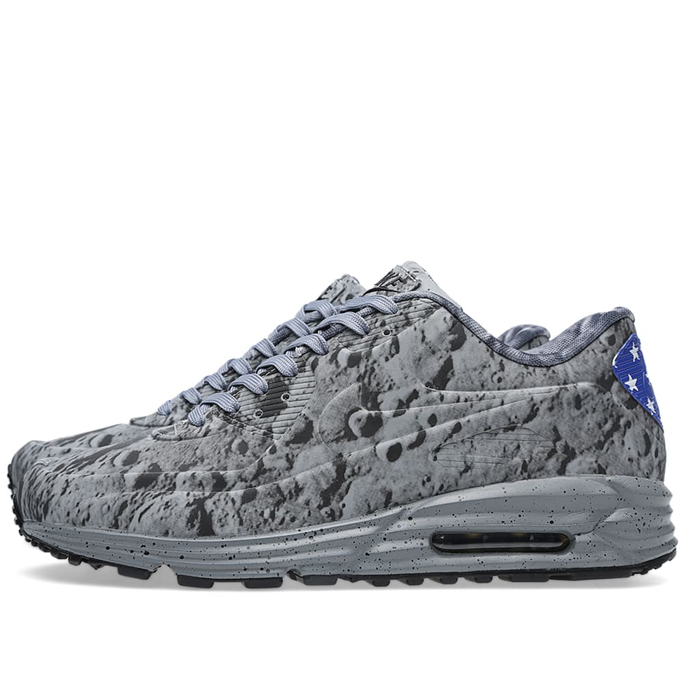 more photos 7dccb ccff1 Nike Air Max Lunar 90 SP  Moon Landing  Reflective Silver   END.