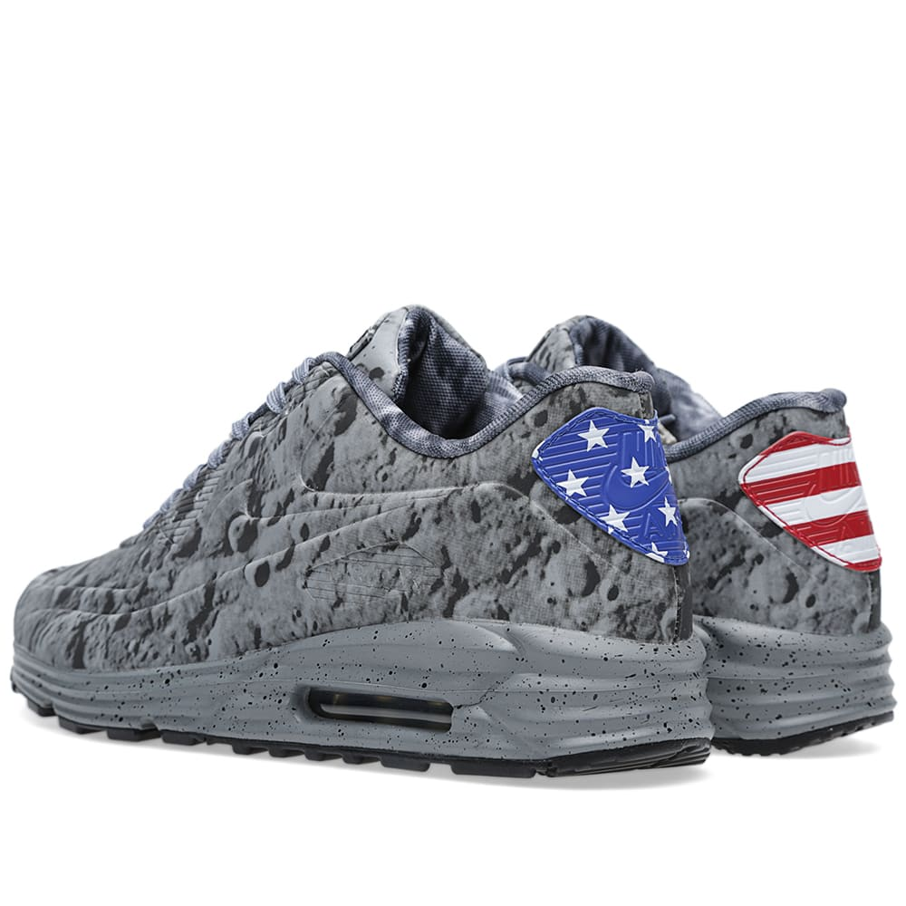more photos 54b2b 07591 Nike Air Max Lunar 90 SP  Moon Landing  Reflective Silver   END.