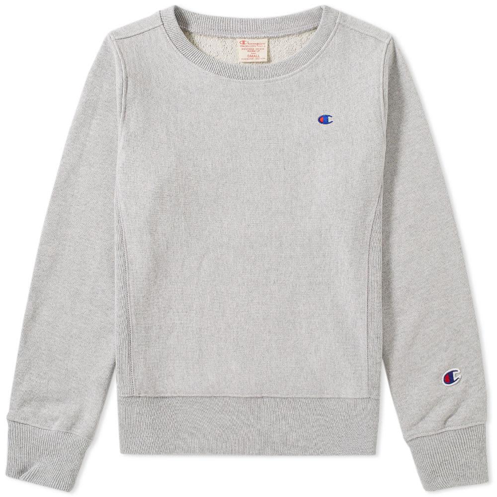 CHAMPION Women S Signature Small Logo Crew Sweatshirt dab22788e8