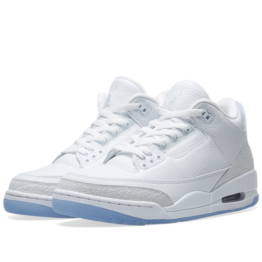 a21ef7bf78c6 Air Jordan 3 Retro White