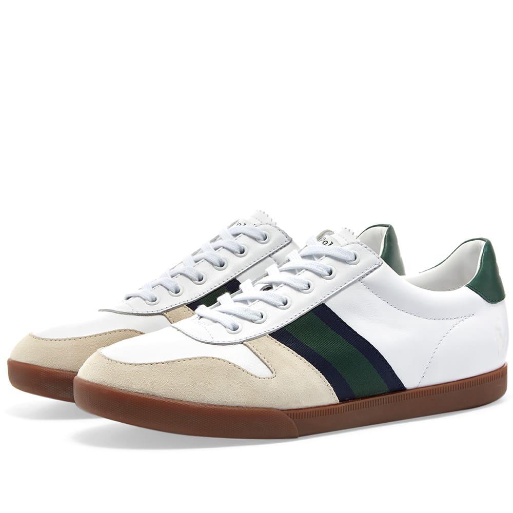 online store 94720 76cee Polo Ralph Lauren Camilo Taped Cupsole Sneaker