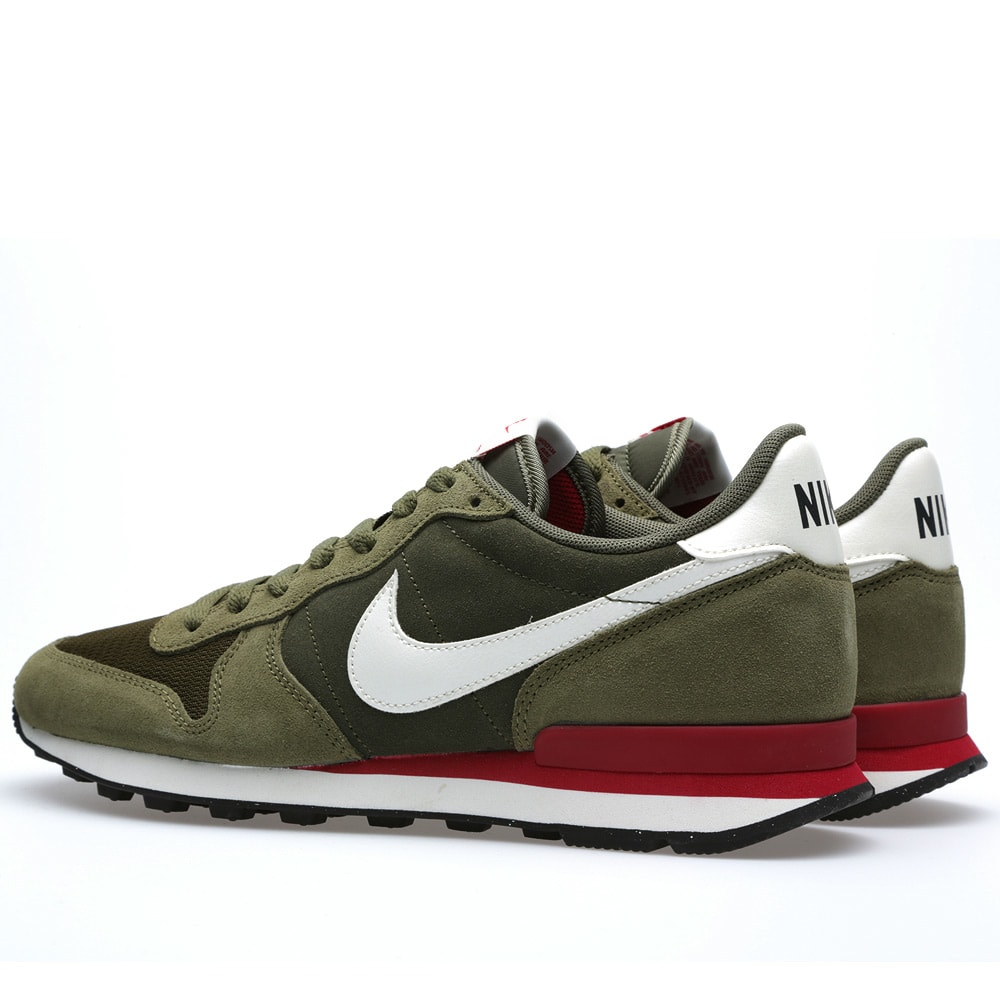 nike internationalist leather cargo khaki sail. Black Bedroom Furniture Sets. Home Design Ideas