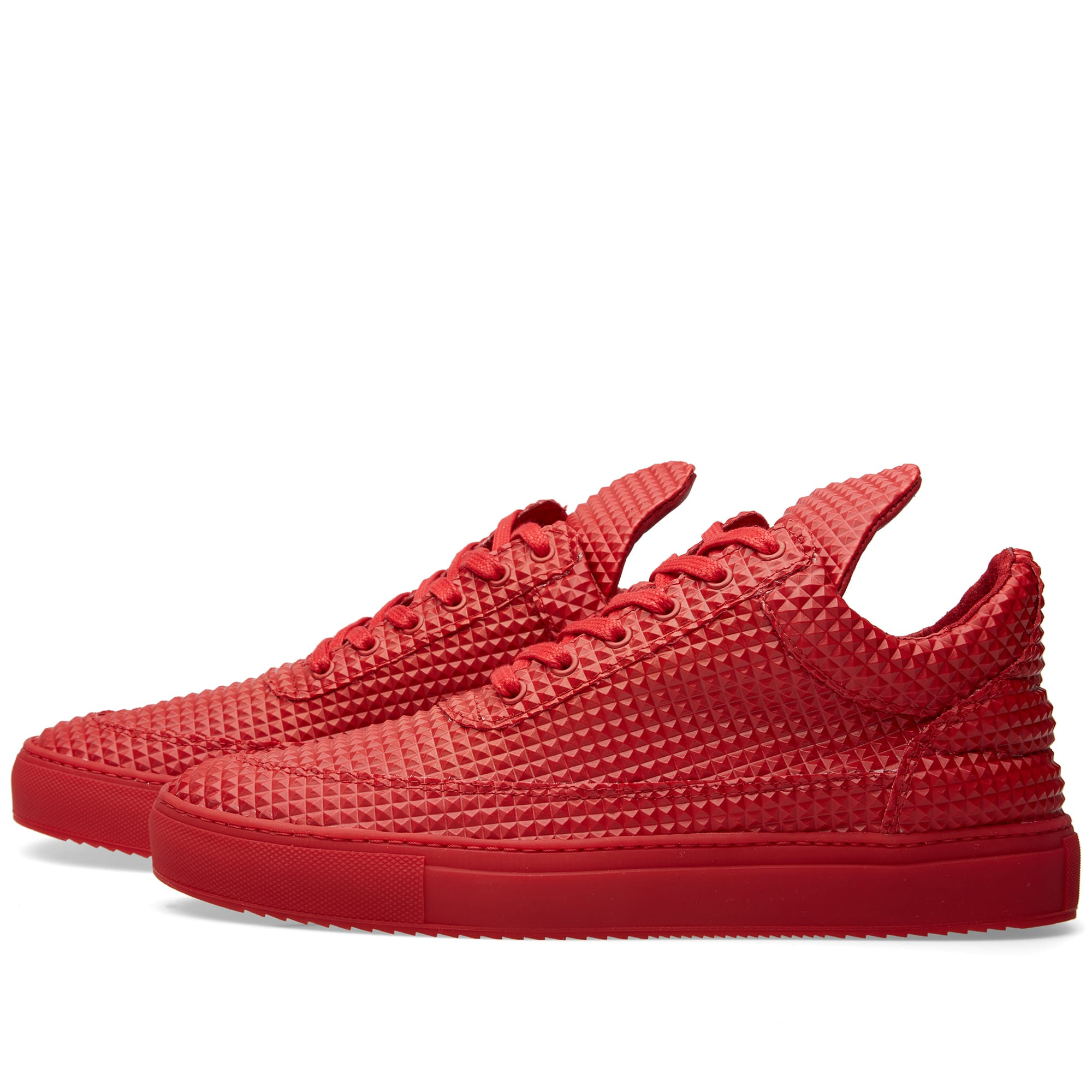 filling pieces low top sneaker red pyramid. Black Bedroom Furniture Sets. Home Design Ideas