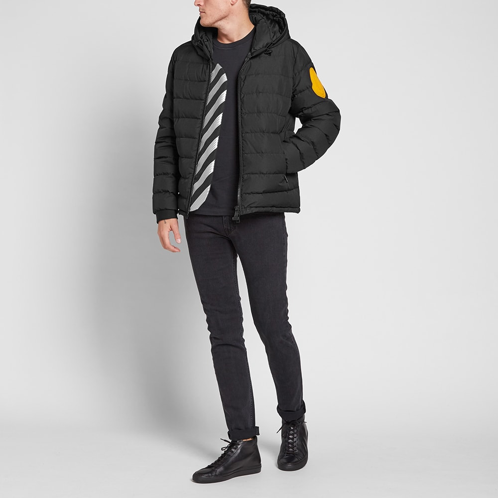 Moncler x Off White 'Dinard' Quilted Down Jacket Like a Lit
