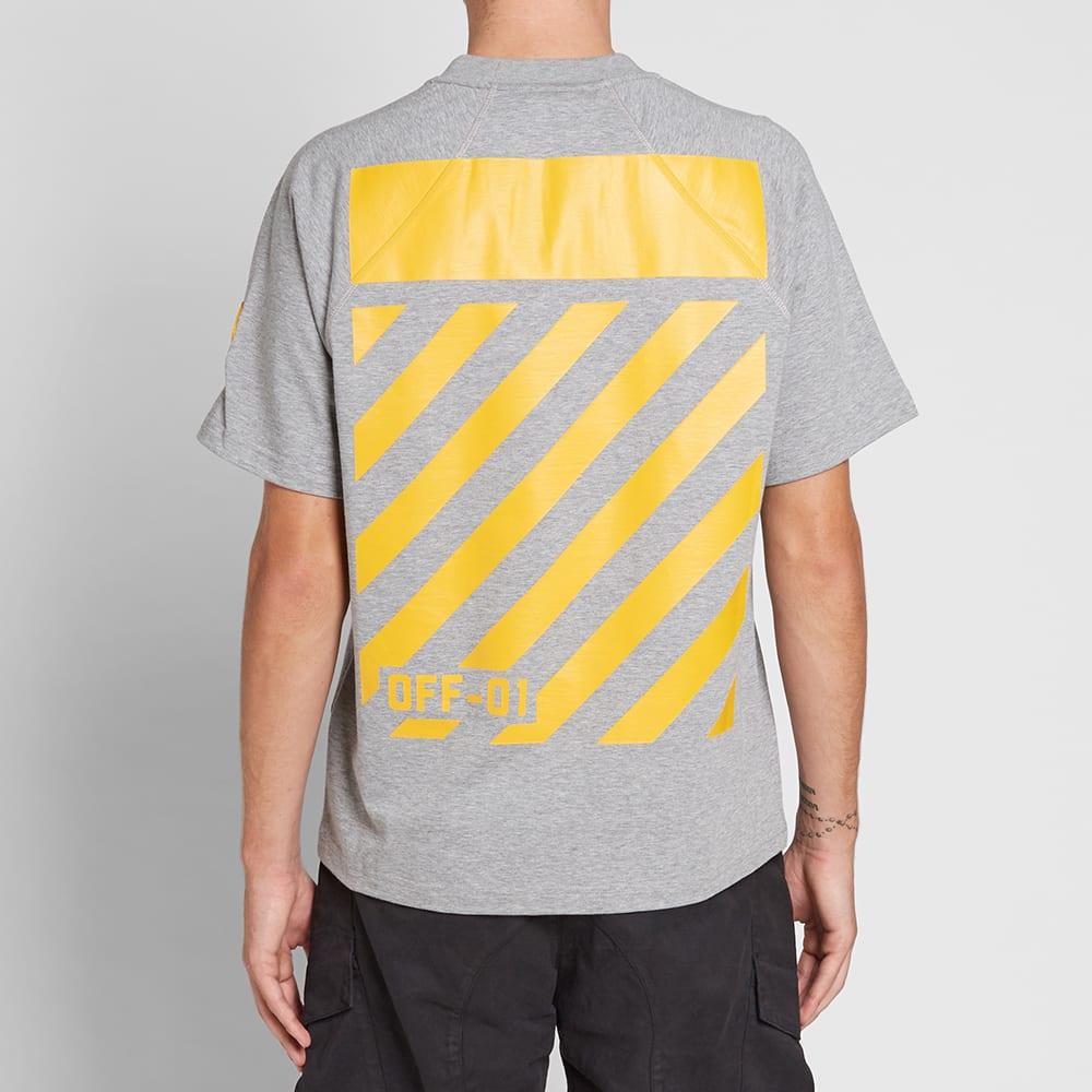 Moncler X Off White T Shirt Black  Moncler Moncler X Off