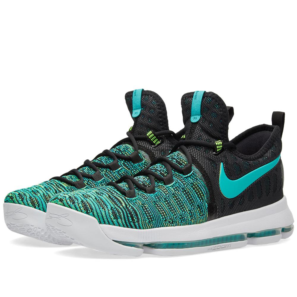 quality design 71165 ed984 Nike Zoom KD 9 Clear Jade   Black   END.