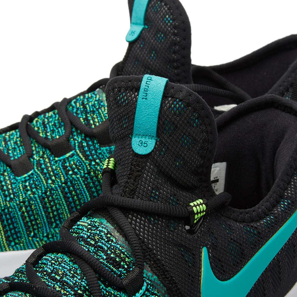 da7b25d6e668 Nike Zoom KD 9 Clear Jade   Black
