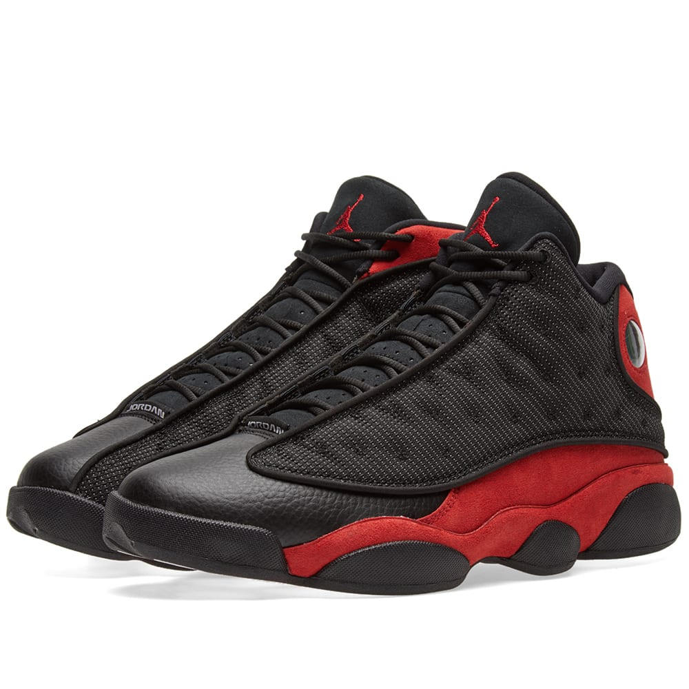 the latest a367b 95e22 Nike Air Jordan 13 Retro Black, True Red   White   END.