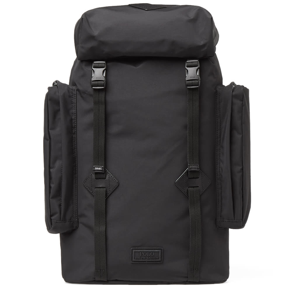 61f5c5b134e7 Polo Ralph Lauren City Explorer Backpack In Black