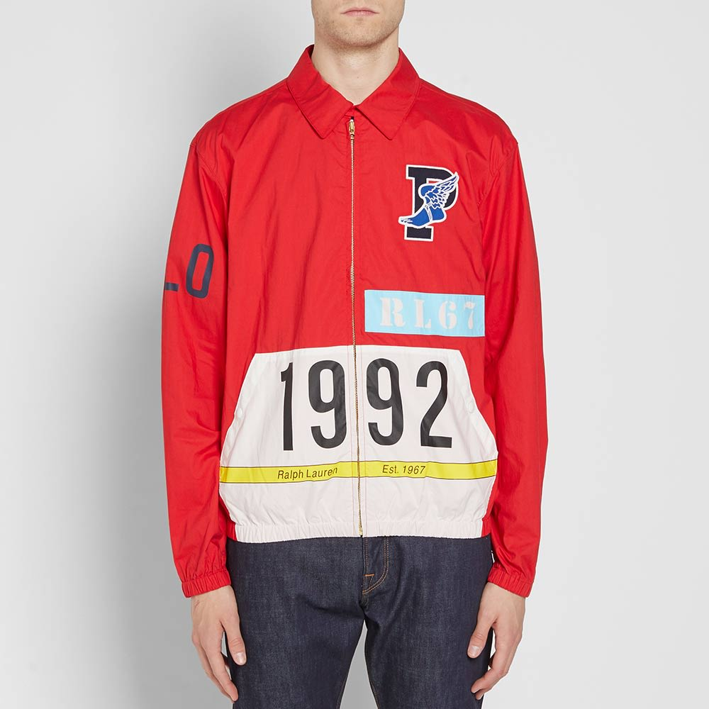 5b5dd5abf4b Polo Ralph Lauren Stadium P-Wing Jacket Red