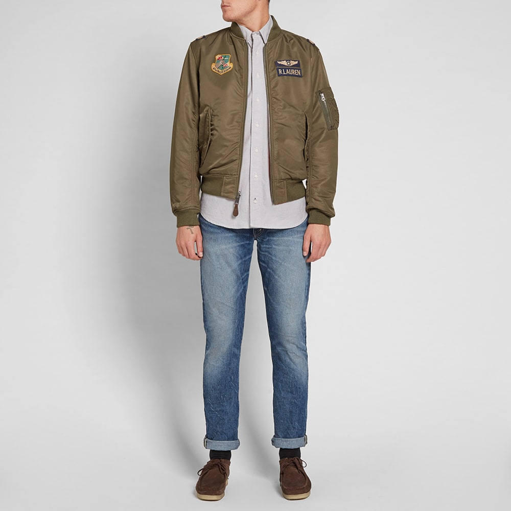 ab32dee0 Polo Ralph Lauren Vintage Military Bomber Jacket
