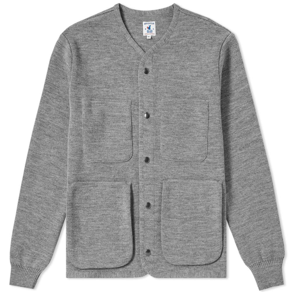 ARPENTEUR Arpenteur George Knitted Liner in Grey