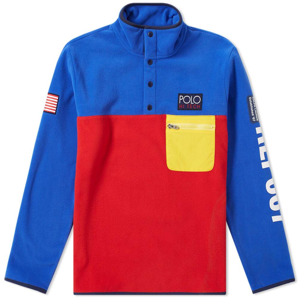 a6f7394ac Polo Ralph Lauren Hi-Tech Logo-AppliquÉD Shell-Trimmed Colour-Block Fleece