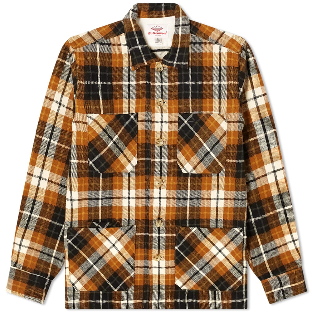 Battenwear 5 Pocket Canyon Shirt In Brown