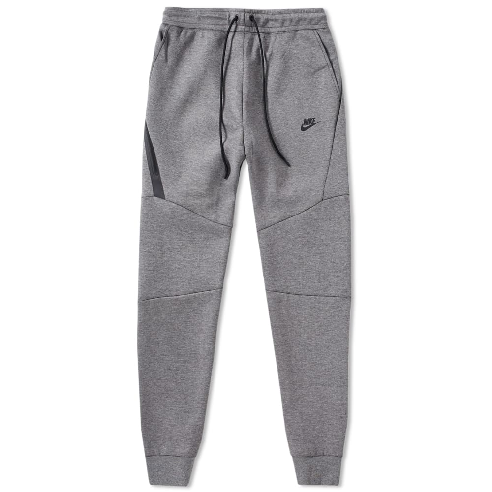 328516c24f21 Nike Tech Fleece Jogger Carbon Heather   Black