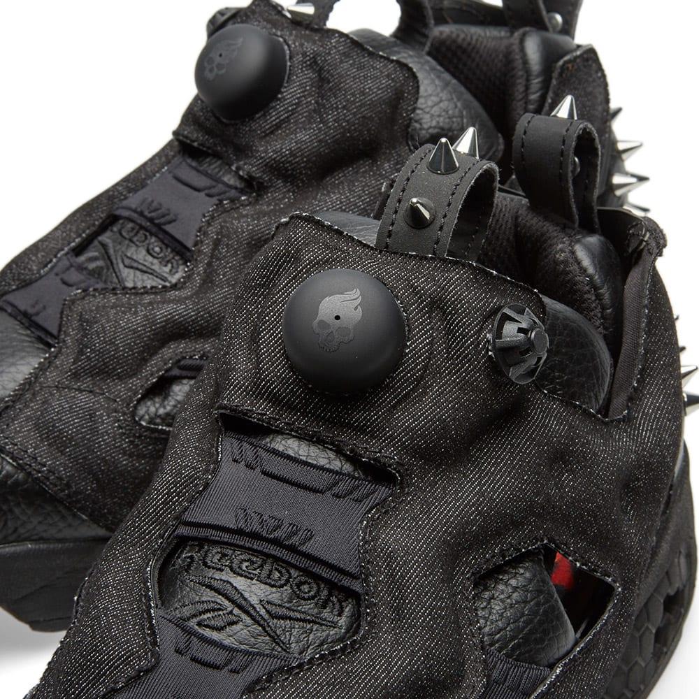 best sneakers 674d1 c586f Reebok Instapump Fury OG HW. Black   Silver Metallic
