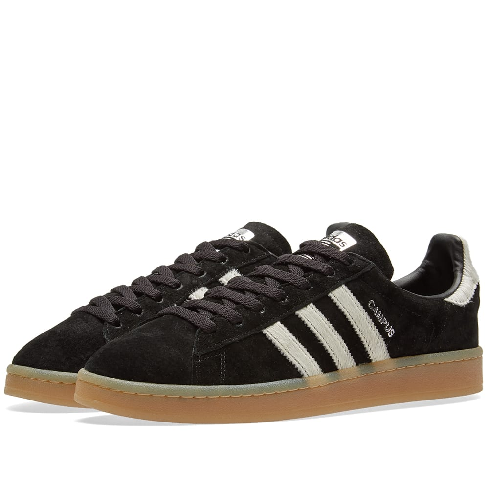 timeless design 5a5bc 8d706 Adidas Campus Core Black   Vintage White   END.