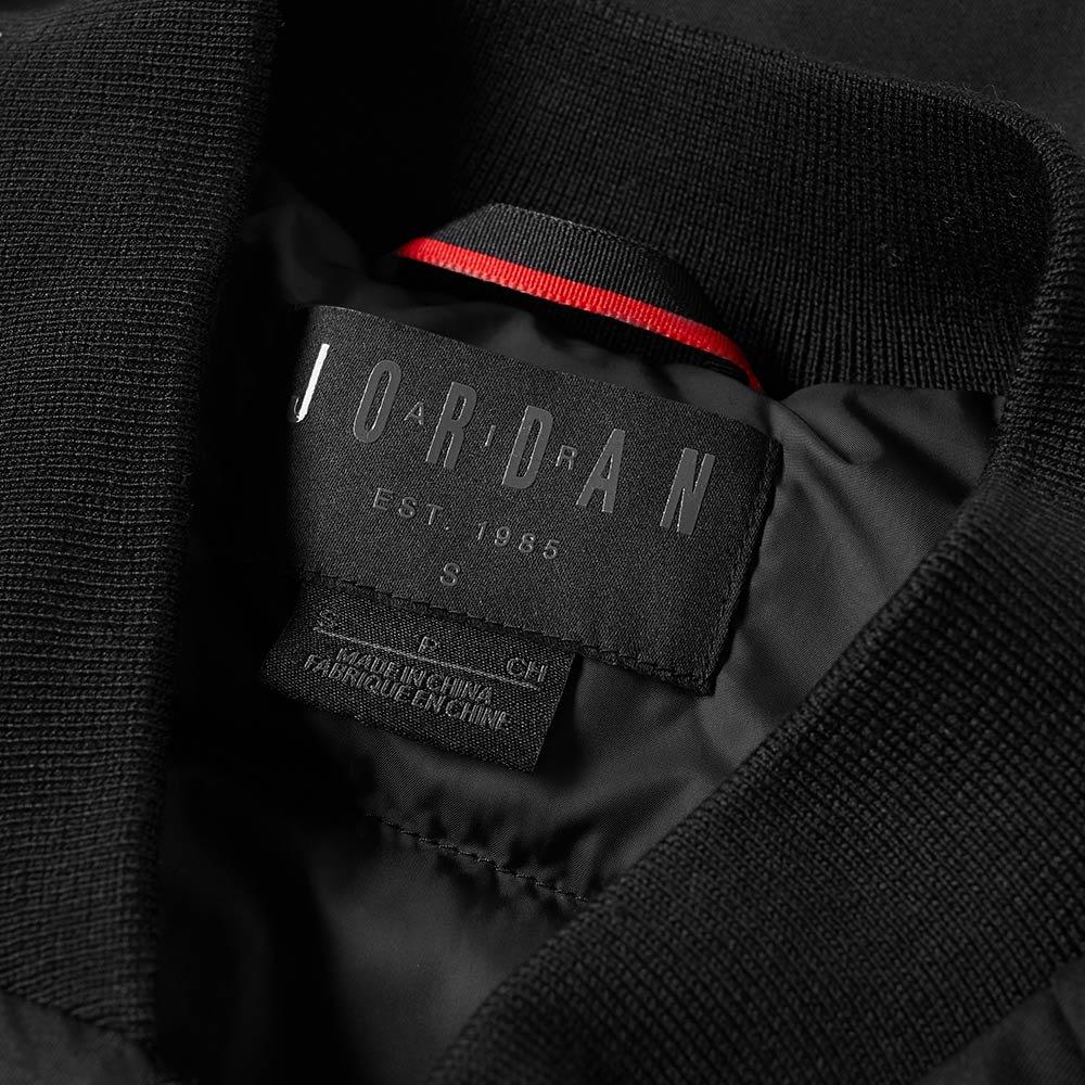 cf94e2e627a6 Nike Jordan Wings MA-1 Jacket Black
