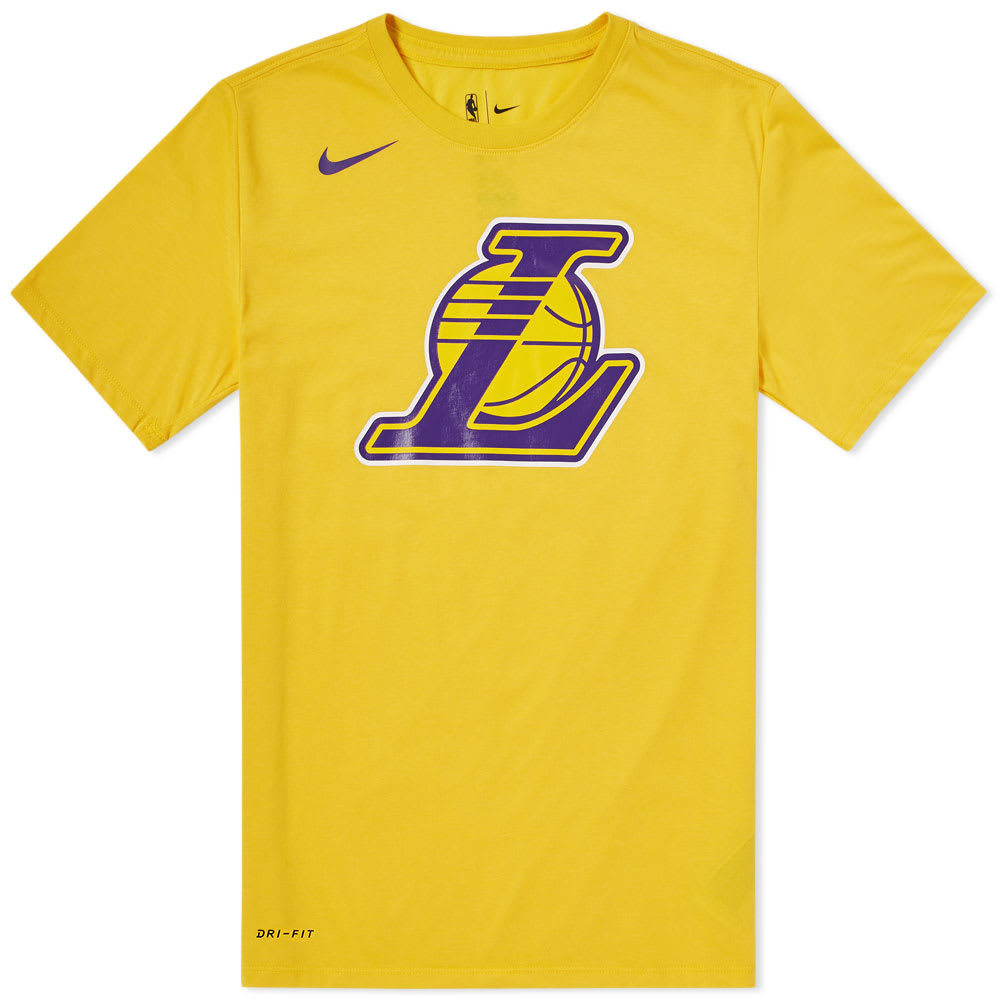 new products 7a838 b47ba Nike Los Angeles Lakers Tee