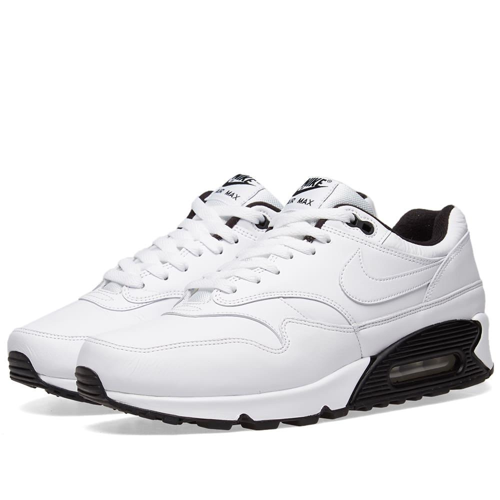 on sale 7957b 2b0b2 Nike Air Max 90 1 White   Black   END.