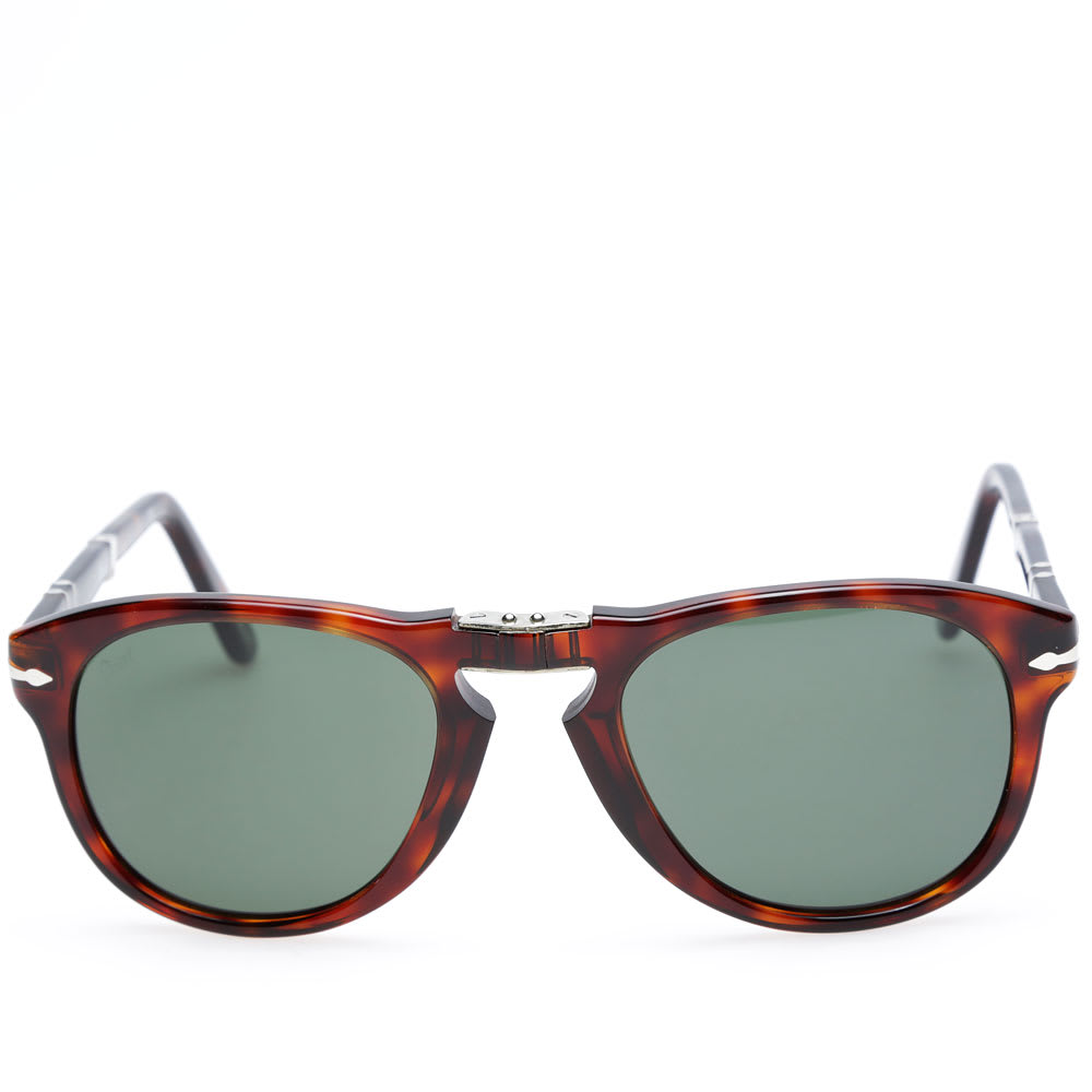 e0ffe80b3e Persol 714 Foldable Aviator Sunglasses Havana
