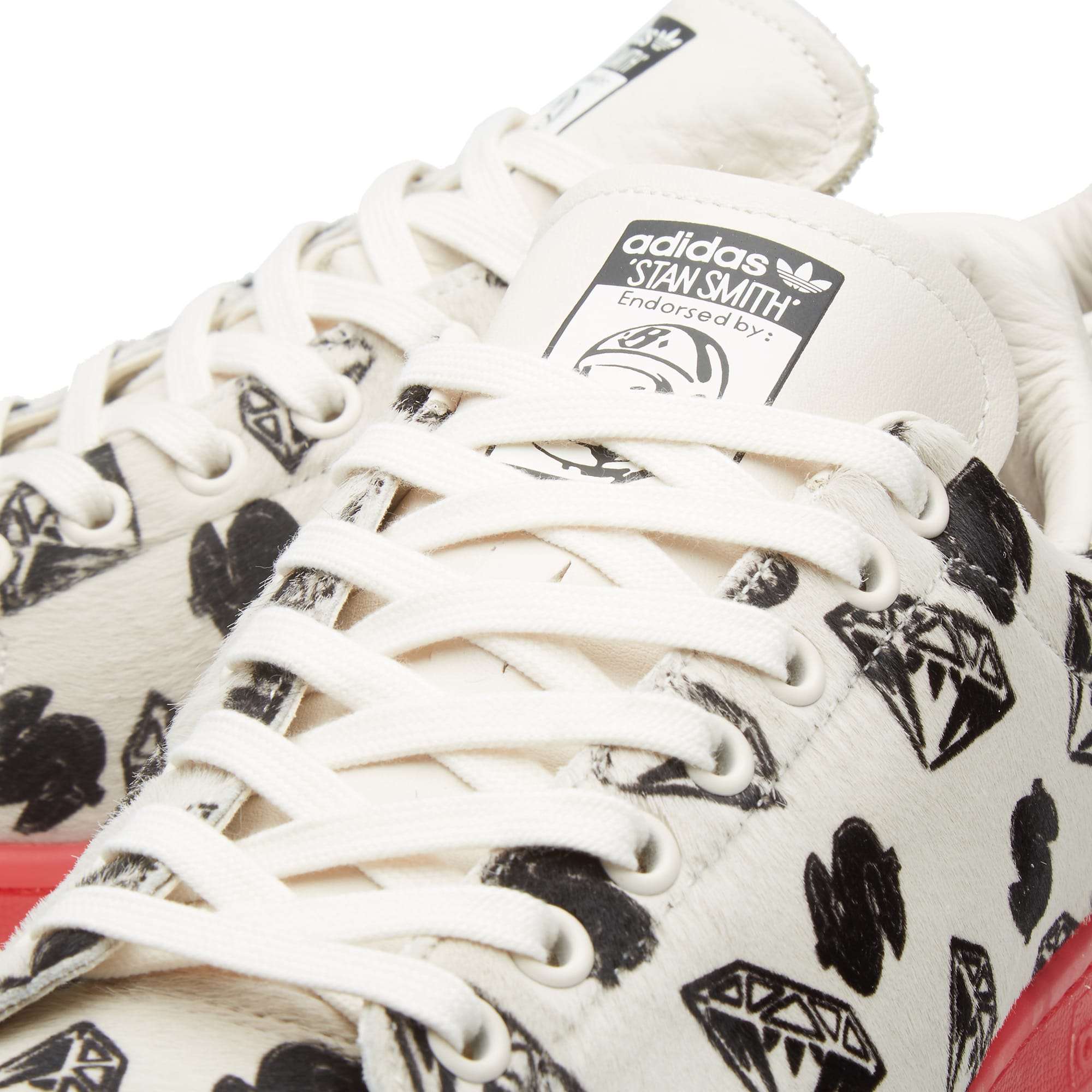 ab6d782238d97 Adidas Consortium x Pharrell x BBC Stan Smith  Pony Hair  Chalk White   Red