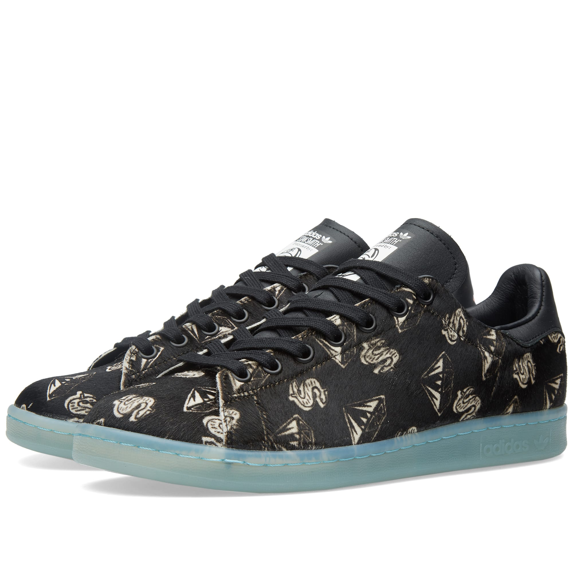 d01989ac015f3 Adidas Consortium x Pharrell x BBC Stan Smith  Pony Hair  Core Black ...