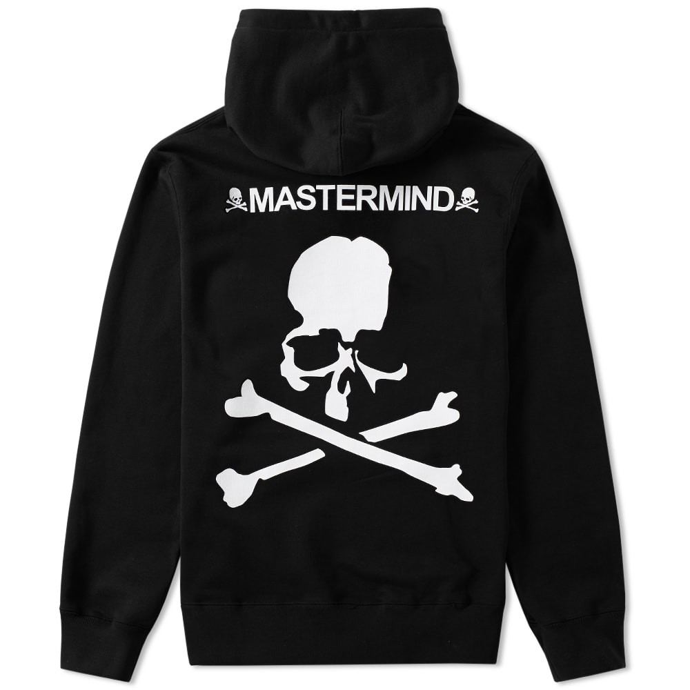 designer fashion look for amazing price Mastermind Japan Mastermind Skull Hoody Black B | END.