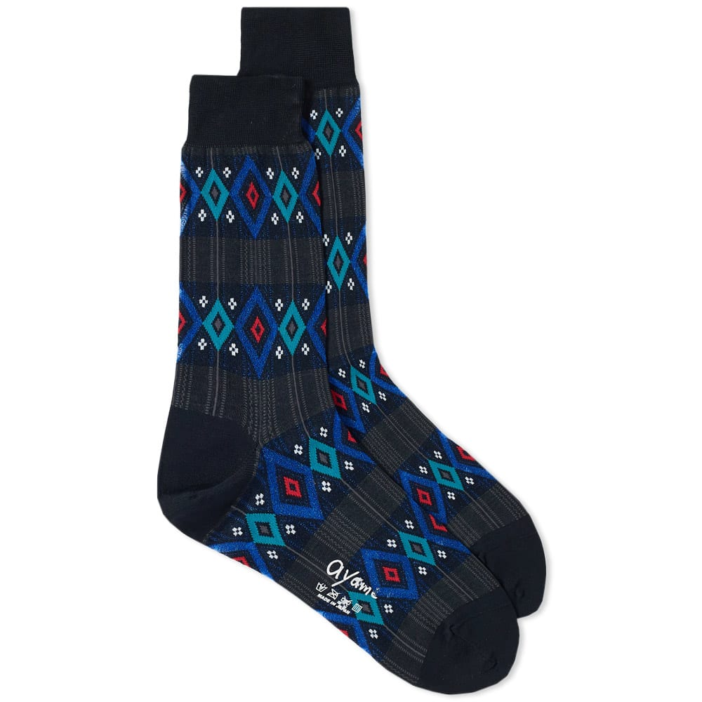 AYAME SOCKS STAINED GLASS SOCK