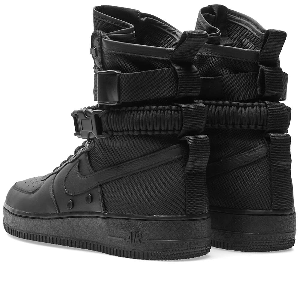 pick up 58c39 9388b Nike SF Air Force 1 Boot Black   END.
