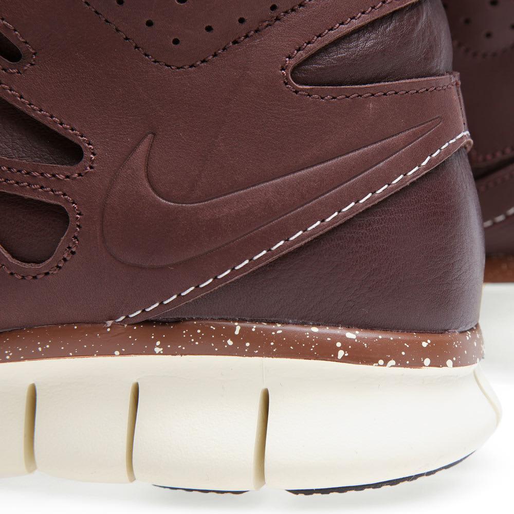 791adb431a70 Nike Free Run 2 Sneakerboot QS Barkroot Brown