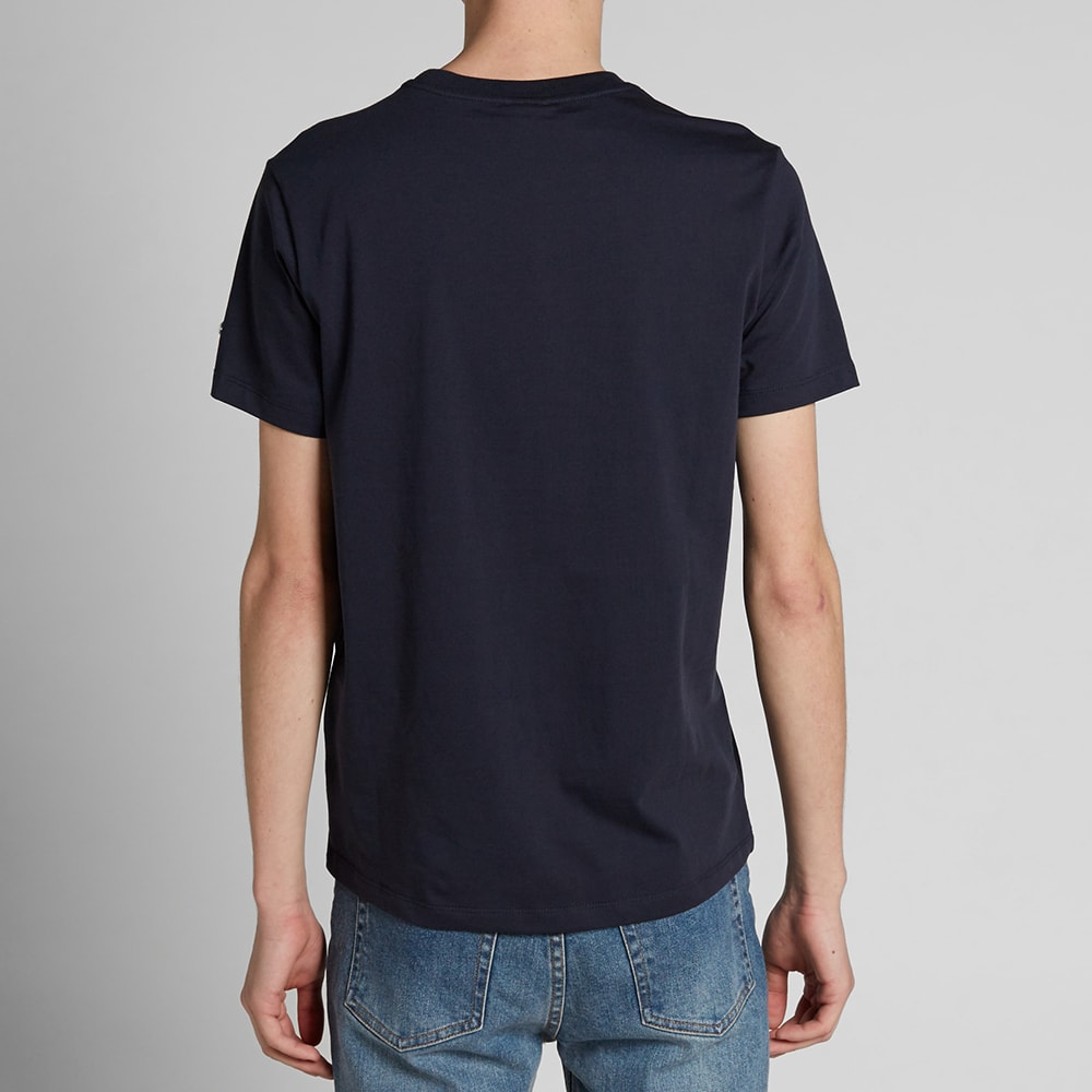champion reverse weave classic tee navy. Black Bedroom Furniture Sets. Home Design Ideas