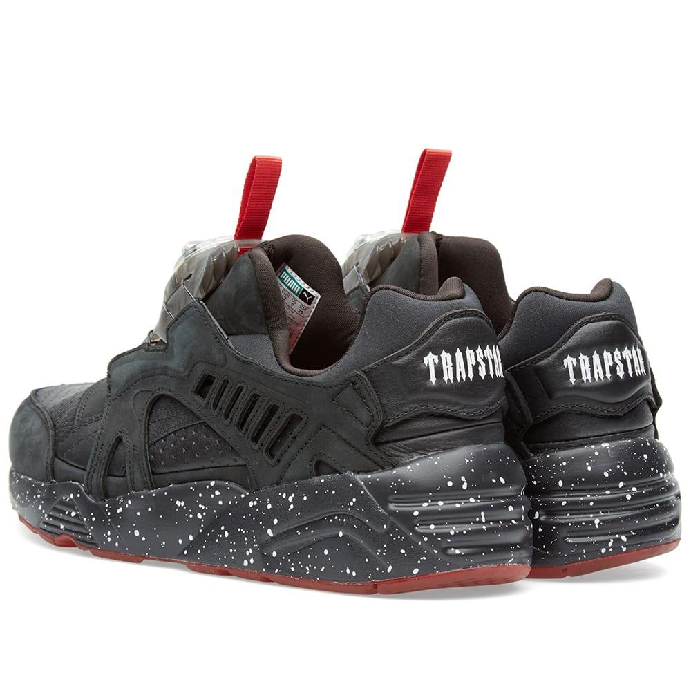 5598272044f Puma x Trapstar Disc Blaze Black, White & Red   END.
