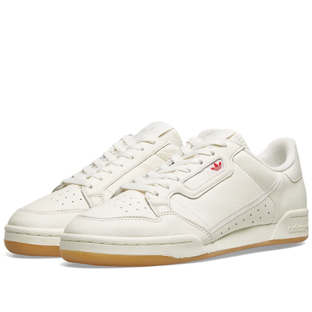 Continental 80 Shoes Raw White