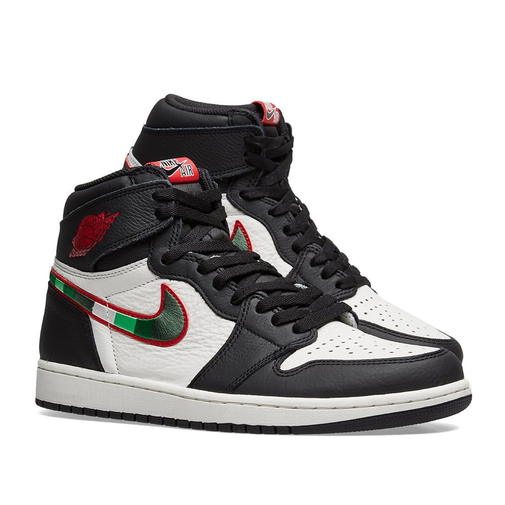 pretty nice b8a99 fe01e Air Jordan 1 Retro High OG. Black, Varsity Red ...
